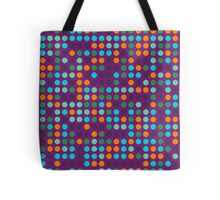 Retro Polka Dot Pattern #8 Tote Bag