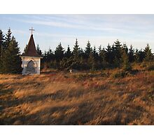 Abandoned Steeple at Burnt Head Graveyard Photographic Print