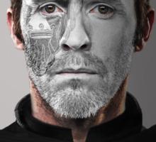 Stannis Baratheon Stag War Paint Sticker