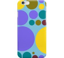 Retro Polka Dot Pattern #9 iPhone Case/Skin