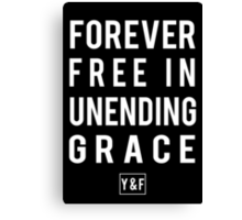 Alive- Hillsong Young & Free Canvas Print