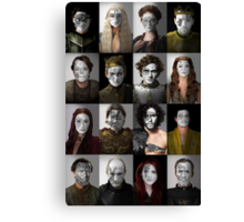 Game of Thrones War Print, Collection 1 Canvas Print