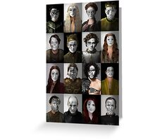 Game of Thrones War Print, Collection 1 Greeting Card