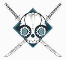 Cyborg Skull by Cryogenics