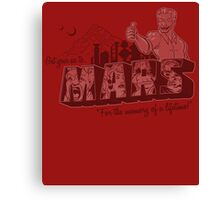 Get Your Ass to Mars Canvas Print
