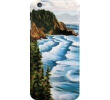 Waves And Mountains iPhone Case/Skin
