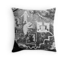 """""""Petroglyphs at Galisteo"""" Throw Pillow"""