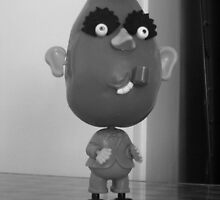 old school potato head by Michelle Whelan