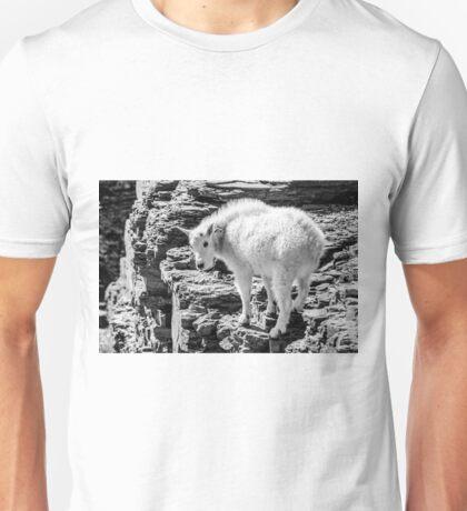 Mountain Goat Kid Unisex T-Shirt