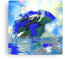 Earth Sea and Sky Canvas Print