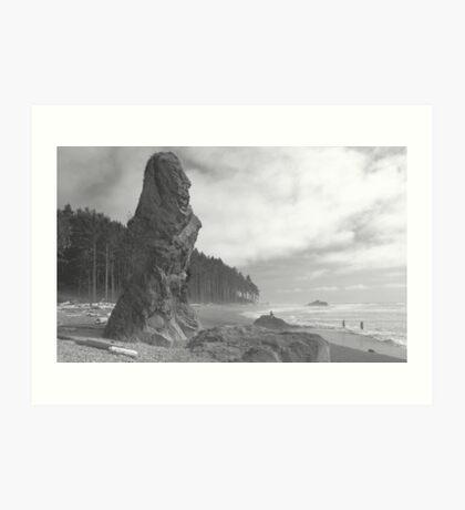 """Sea Stack"" Art Print"