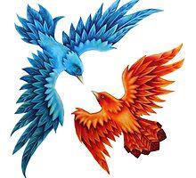 The Wedding Birds by Byron Rhodes