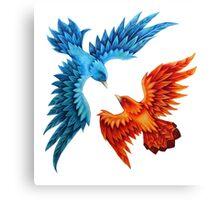The Wedding Birds Canvas Print