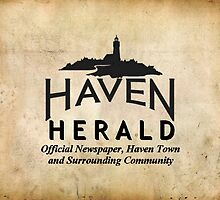 Haven Herald Newspaper Logo by HavenDesign
