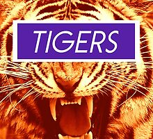 Go Tigers by Emily Lanier