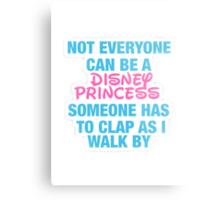 Disney Princess- Hipster Quote  Metal Print