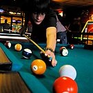 Shootin' Some Pool by Lizzie Phillips
