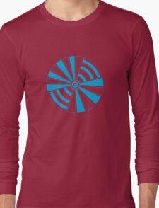 Mandala 17 Into The Blue Long Sleeve T-Shirt