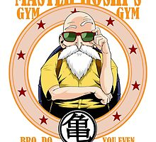 Master Roshi's Gym by Mark Lauthier