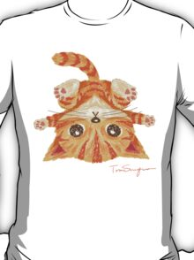 Tabby upside-down T-Shirt