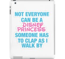 Disney Princess- Hipster Quote  iPad Case/Skin