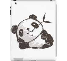 Panda that is relaxing iPad Case/Skin