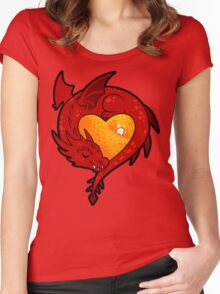 Smaug Women's Fitted Scoop T-Shirt