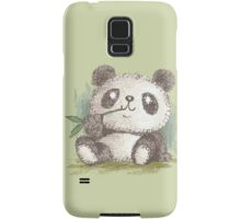 Panda that is eating bamboo Samsung Galaxy Case/Skin