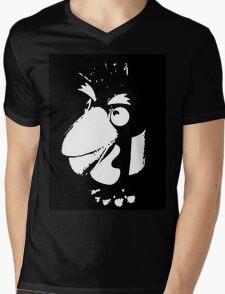 Pesky penguin Mens V-Neck T-Shirt