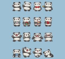 Various feeling of Panda Kids Clothes