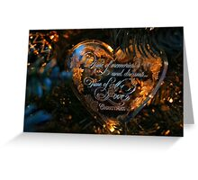 Christmas, A Time of Love Greeting Card