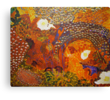 Dreamtime Breakfast - Colours of the Outback Canvas Print