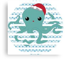 Octopus - snow 2014 limited time only !  Canvas Print