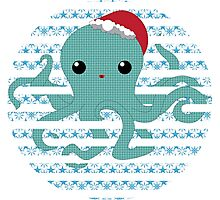Octopus - snow 2014 limited time only !  Photographic Print