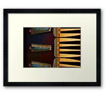 Forky abstract Framed Print