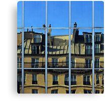 Surreal Paris Canvas Print