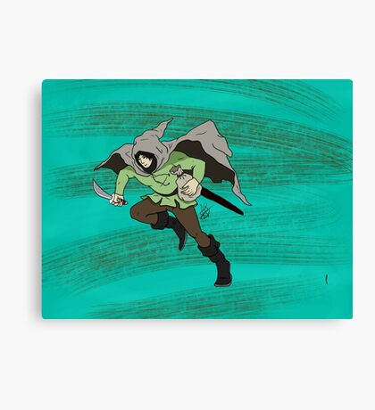 The Thief  Canvas Print