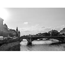 Paris Bridge Photographic Print