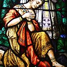 Stained Glass from St Mary's Chapel Wellington by kateannmorris