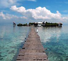 Pier Walk by PiccirilloArt