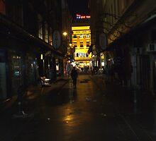 I see you walking, down that street. by josha413
