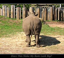 Does This Make My Bum Look Big by Gerguppy
