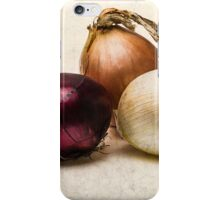 Three Onions iPhone Case/Skin