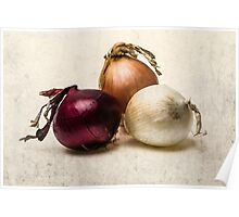 Three Onions Poster