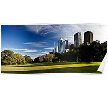 Sydney Skyline From Royal Botanical Garden Poster