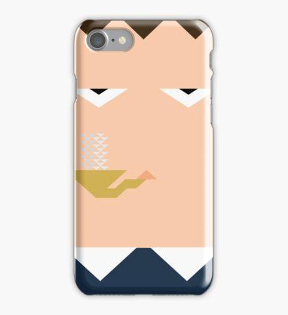 Minimal Sherlock iPhone Case/Skin