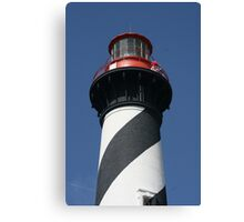 Top of St. Augustine Lighthouse Canvas Print