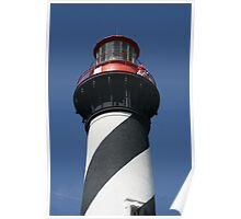 Top of St. Augustine Lighthouse Poster