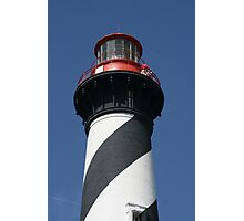 Top of St. Augustine Lighthouse Photographic Print