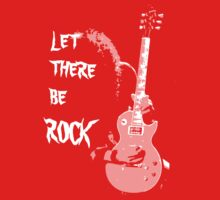 LET THERE BE ROCK T-SHIRT Kids Clothes